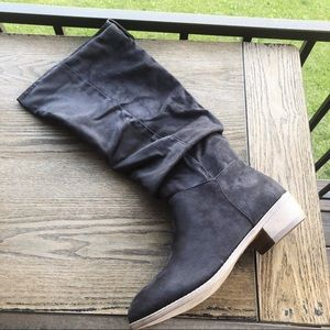 Journee Collection Tall Faux Suede Boot